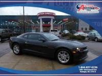 This is a 2014 Chevrolet Camaro LS 2D Coupe, 3.6L V6