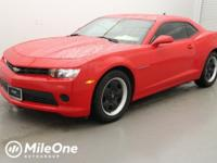 Certified. Red Hot 2014 Chevrolet Camaro 2LS RWD