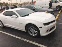 Options:  2014 Chevrolet Camaro 1Ls|White|Carfax