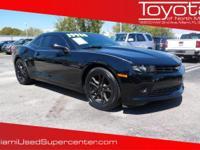 Options:  2014 Chevrolet Camaro 1Ls|Black/|V6 3.6L