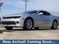 2014 Chevrolet Camaro 1LS in Silver Ice Metallic, This