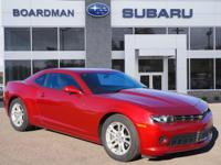 Clean CARFAX. Red 2014 Chevrolet Camaro 2LS RWD 6-Speed