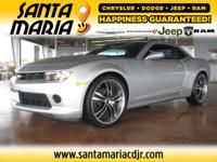 Options:  2014 Chevrolet Camaro Ls W/2Ls 3.6L V6 Dgi