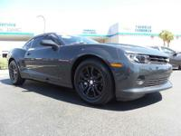 Look at this 2014 Chevrolet Camaro LS. Its Automatic