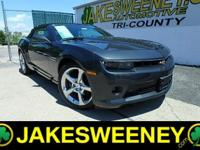 Meet our GM Certified 2014 Chevrolet Camaro. This