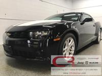 Options:  2014 Chevrolet Camaro 1Lt|Black|New Price!