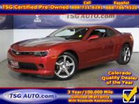 **** FRESH IN FOLKS! THIS 2014 CHEVY CAMARO LT HAS JUST