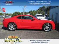 This 2014 Chevrolet Camaro 1LT in Red is well equipped
