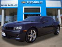 This 2014 Chevrolet Camaro LT is proudly offered by