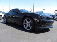 Come see this 2014 Chevrolet Camaro LT. Its Manual