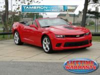 New Price! Clean CARFAX. Red 2014 Chevrolet Camaro SS
