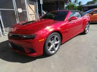 Check out this 2014 Chevrolet Camaro SS. Its Automatic