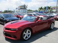 Options:  2014 Chevrolet Camaro Ss|Come And Visit Us At
