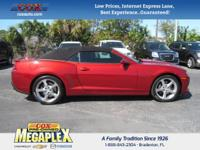 This 2014 Chevrolet Camaro SS in Red is well equipped