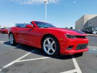 Look at this 2014 Chevrolet Camaro SS. Its Automatic