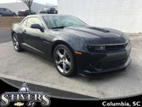 This 2014 Chevrolet Camaro 2SS offers    *Manual