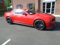 AutoCheck Certified Accident Free! ZL1 Package!