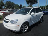 This 2014 Chevrolet Captiva Sport LTZ showcases a 2.4 L