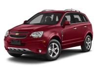 Captiva Sport LTZ and GM Certified. Pertain to the