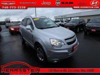 Captiva Sport Chevrolet 28/20 Highway/City MPG 2.4L