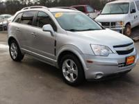 Clean CARFAX. This 2014 Chevrolet Captiva Sport LTZ in