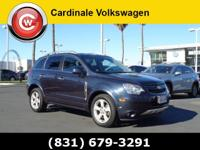 Clean CARFAX. Blue Ray Metallic 2014 Chevrolet Captiva