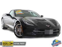 Stingray 3LT, GM Certified, 1-OWNER, CLEAN CARFAX, LOW