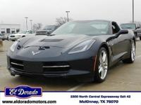 2014 Chevrolet Corvette Stingray 2dr Car Z51 3LT. Our