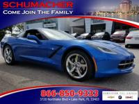 Options:  2014 Chevrolet Corvette Stingray 3Lt| |Front