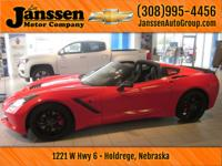 Drive home today in this like new 2014 Chevy Corvette