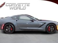 2014 Corvette - Cyber Gray Metallic with Gray Interior,