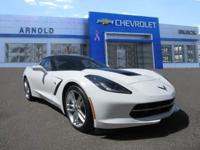 MANUAL CORVETTE STINGRAY COUPE? IN WHITE? WHAT ARE YOU