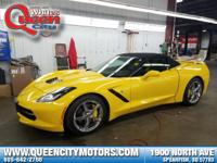 We always have the best Corvettes at White's Queen City