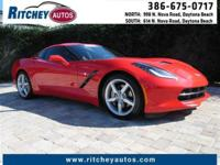 CERTIFIED PRE-OWNED 2014 CHEVY CORVETTE STINGRAY
