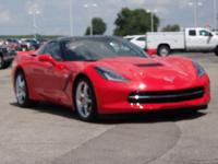 Certified. 2014 Chevrolet Corvette Stingray 2LT Torch