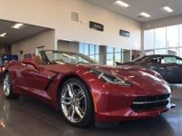 Options:  2014 Chevrolet Corvette Stingray Z51|Z51|With