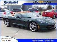 Options:  2014 Chevrolet Corvette Stingray Z51|Stingray