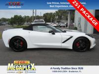 This 2014 Chevrolet Corvette Stingray Z51 in Arctic
