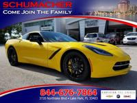 Options:  2014 Chevrolet Corvette Stingray 3Lt| |Front
