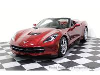 CERTIFIED 2014 Corvette 2LT Convertible with GPS