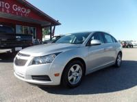 Options:  2014 Chevrolet Cruze Presenting Our 2014