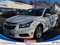 Recent Arrival! 2014 Chevrolet Cruze 1LT Summit White