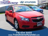 *** Red Hot *** 2014 Chevrolet Cruze 1LT FWD 6-Speed