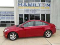 New Arrival! This 2014 Chevrolet Cruze 1LT Includes
