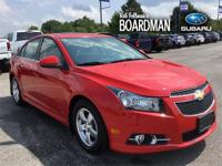 Recent Arrival! Red Hot 2014 Chevrolet Cruze 1LT FWD