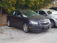 This 2014 Chevrolet Cruze 1LT in blue ray metallic