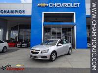 Options:  2014 Chevrolet Cruze 1Lt|Silver|Preferred