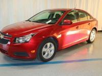 2014 Chevrolet Cruze 1LT in Red... GM Certified.