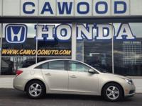 Options:  2014 Chevrolet Cruze 1Lt|Gold|16 5-Spoke