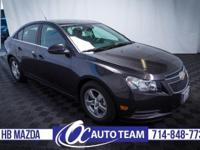 Meet our 2014 Cruze 1LT Automatic sedan shown in an